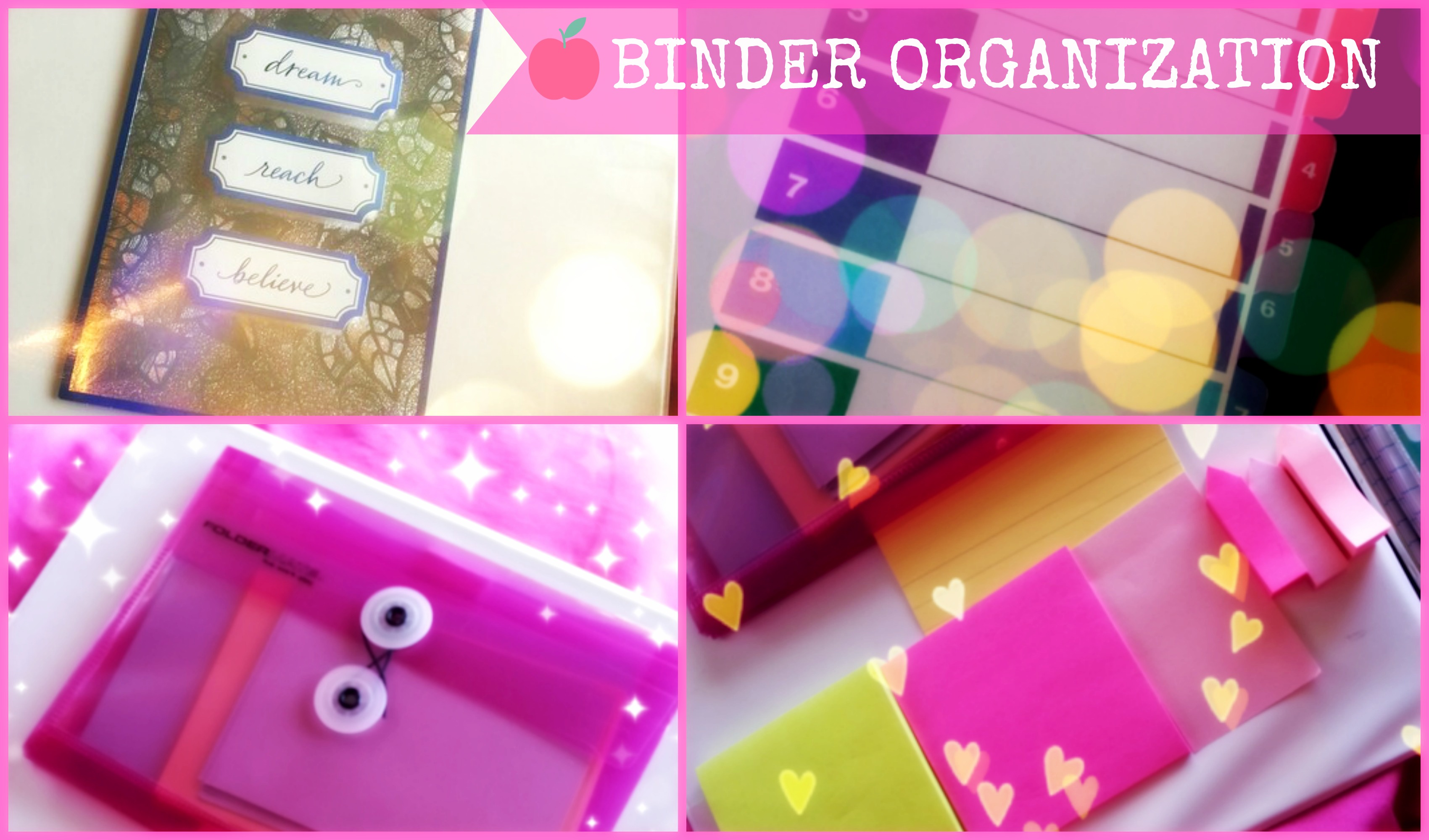 back to school binder organization tips the classy it girl