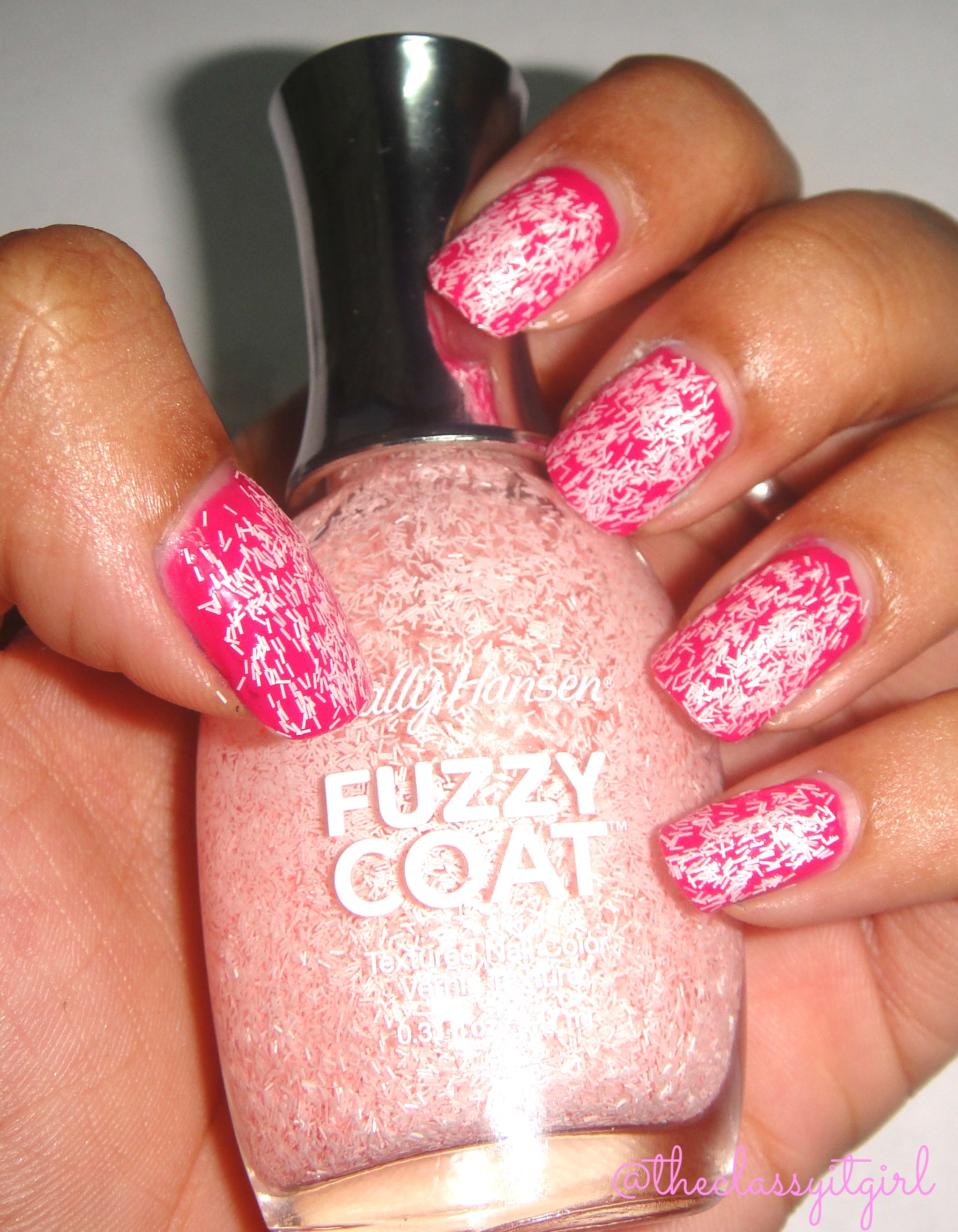 Sally Hansen Fuzzy Coat Nail Polish Review & Demo! | The ...