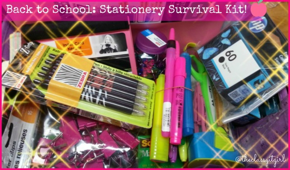 Stationery Collage