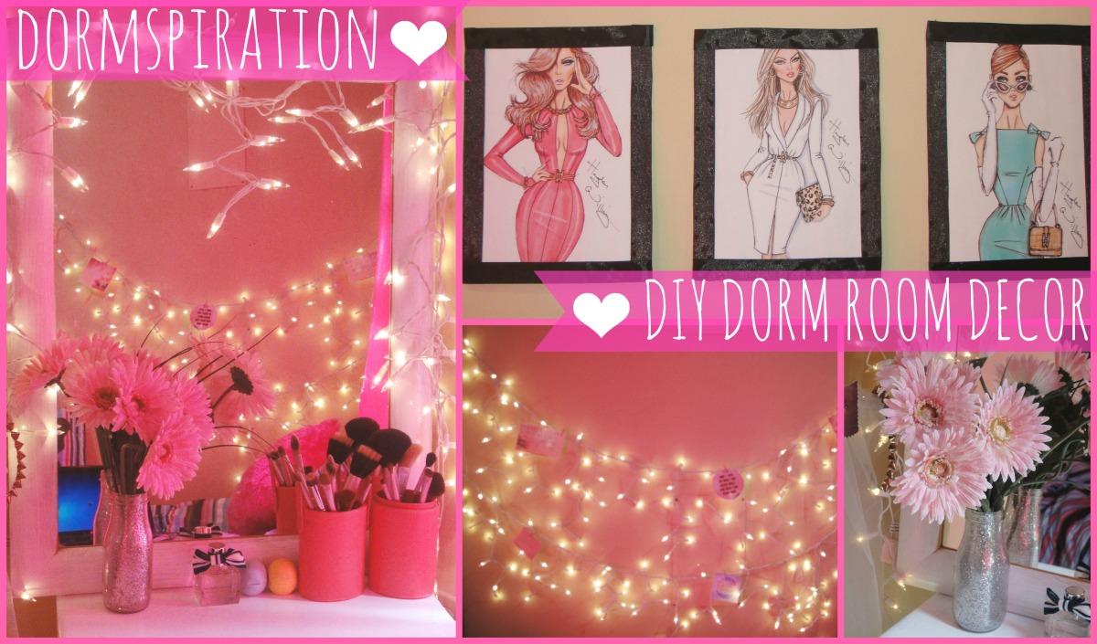 Dormspiration-DIY Room Décor! | The Classy It Girl
