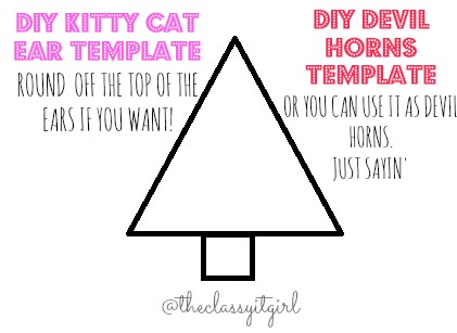 Kitty Cat Template