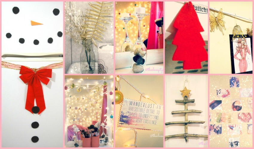 Dormspiration Christmas Collage