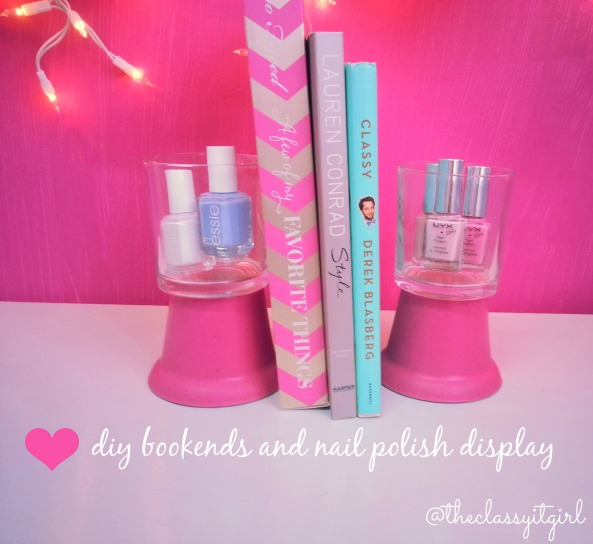 Nail Polish Holders and Bookends