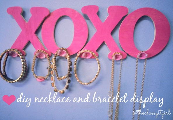 XOXO Jewellery Display