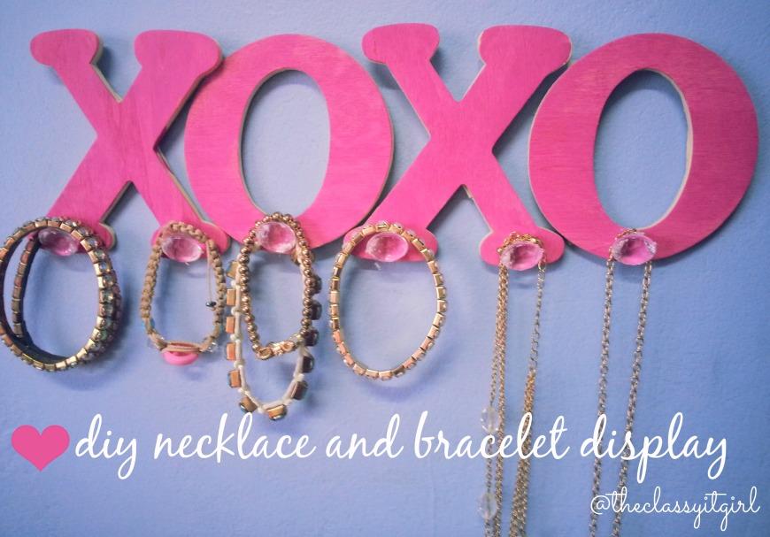 XOXO Jewellery Display