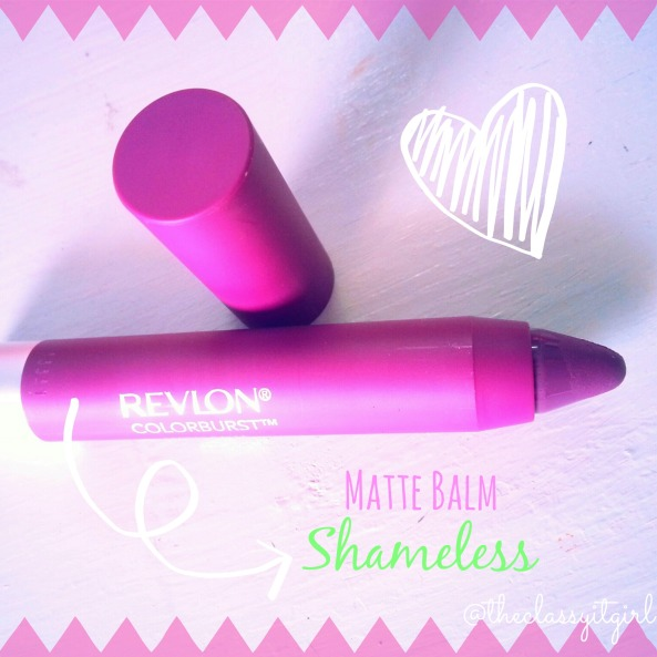Revlon Colorburst Matte Balm in 'Shameless'
