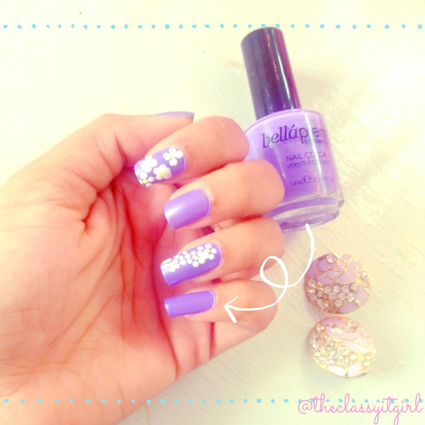 'Lavender' on my nails