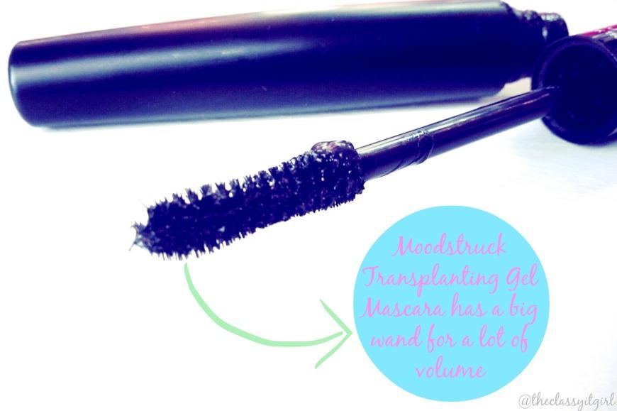 The Moodstruck Transplanting Gel mascara has a mega wand.