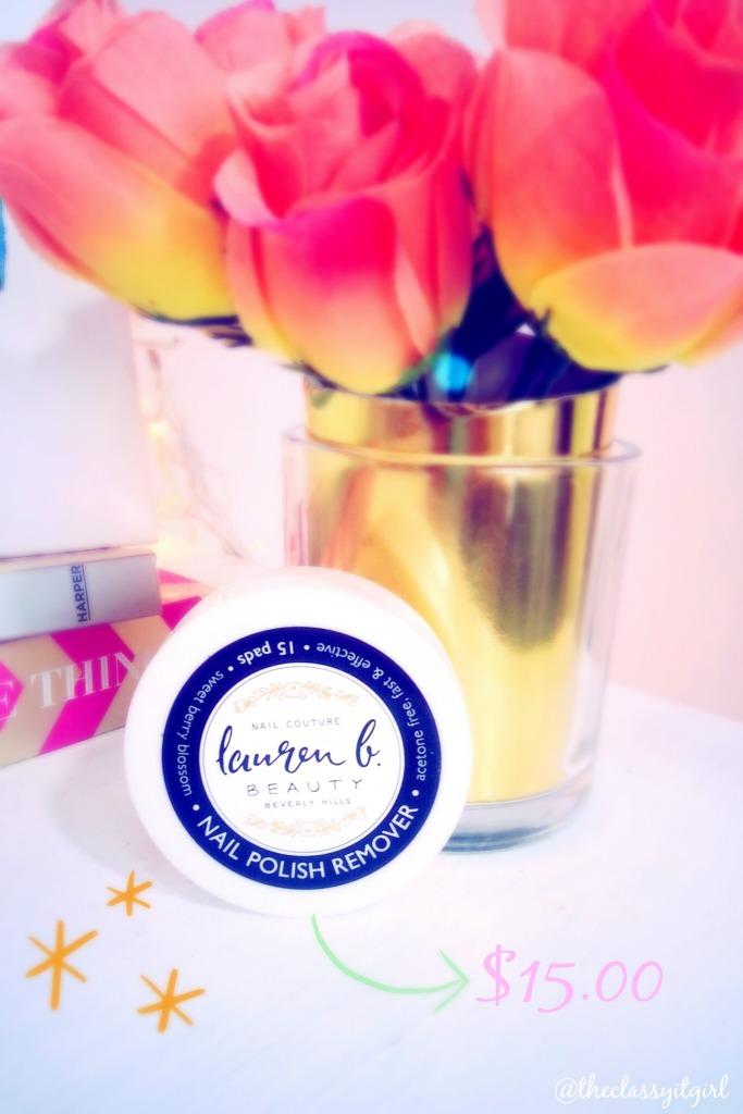 Lauren B. Beauty Nail Polish Remover Pads