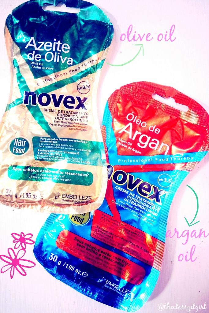 Embelleze Novex Olive Oil & Argan Oil