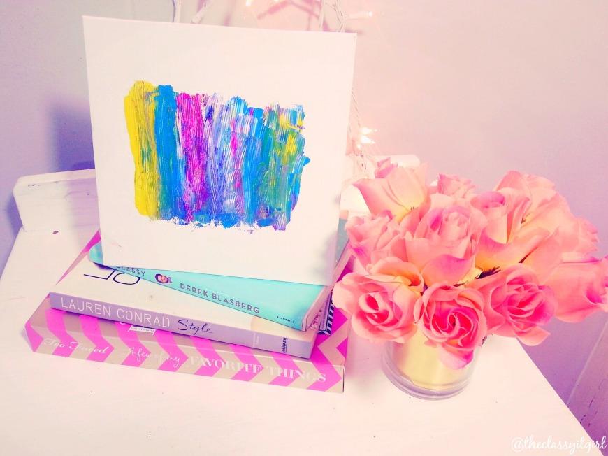 Canvas Brushstroke Art