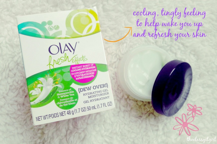 Olay Fresh Effects {Dew Over} Hydrating Gel Moisturizer