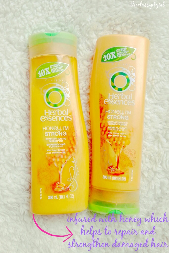 Herbal Essences Honey I'm Strong Shampoo and Conditioner