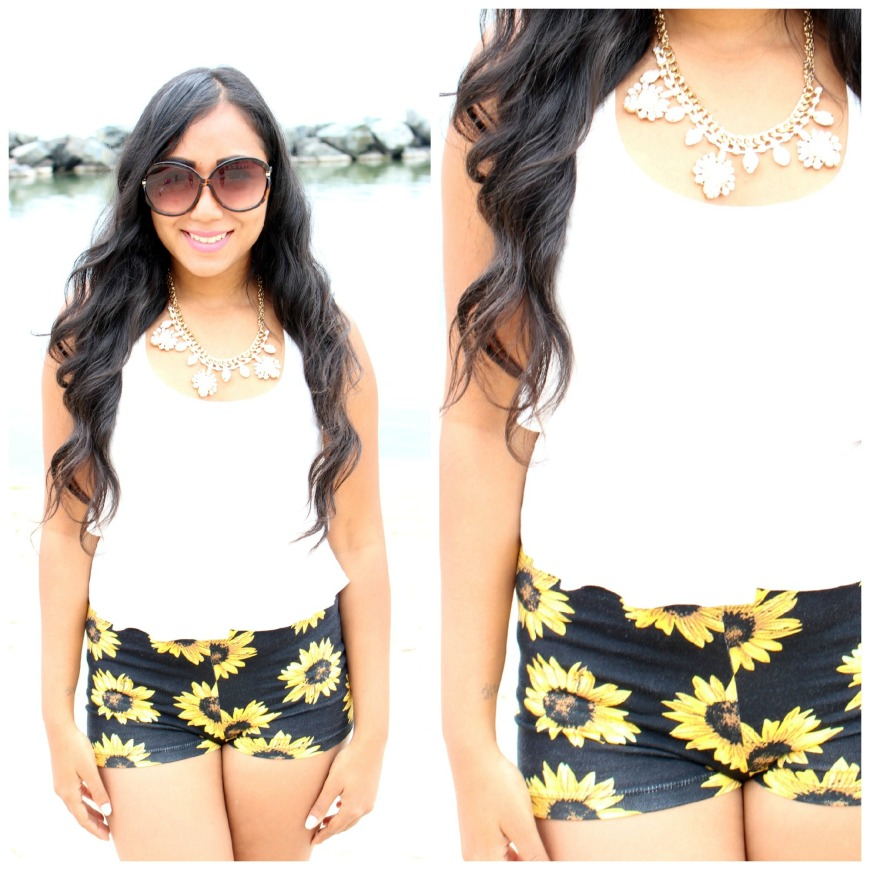 My beach outfit! Check out the video for all the details