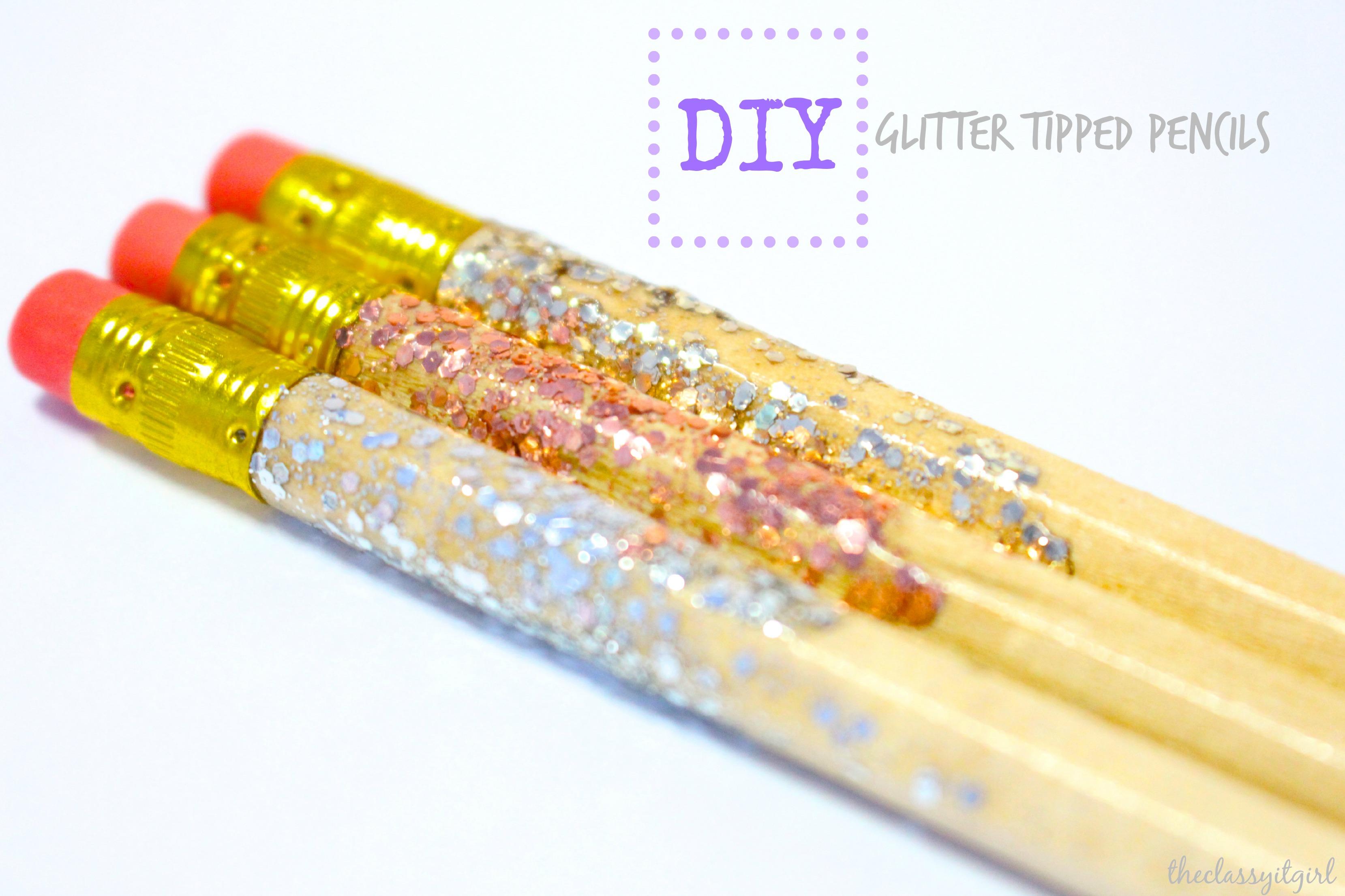 Diy School Supplies Easy Inexpensive The Classy It Girl