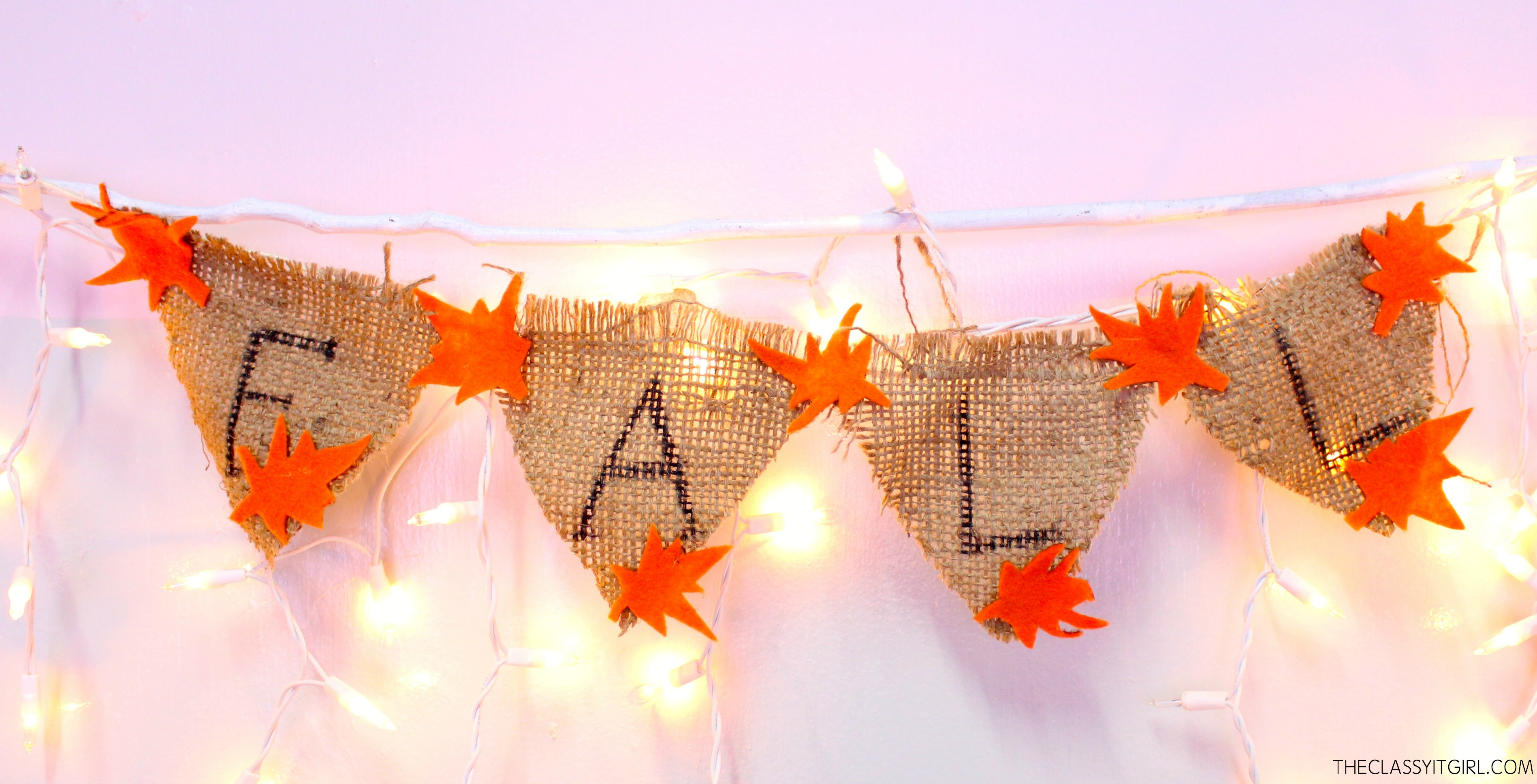 DIY Fall Inspired Decor | The Classy It Girl