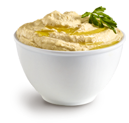 Hummus is so delicious!