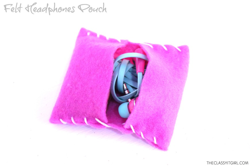 Felt Headphone Pouch