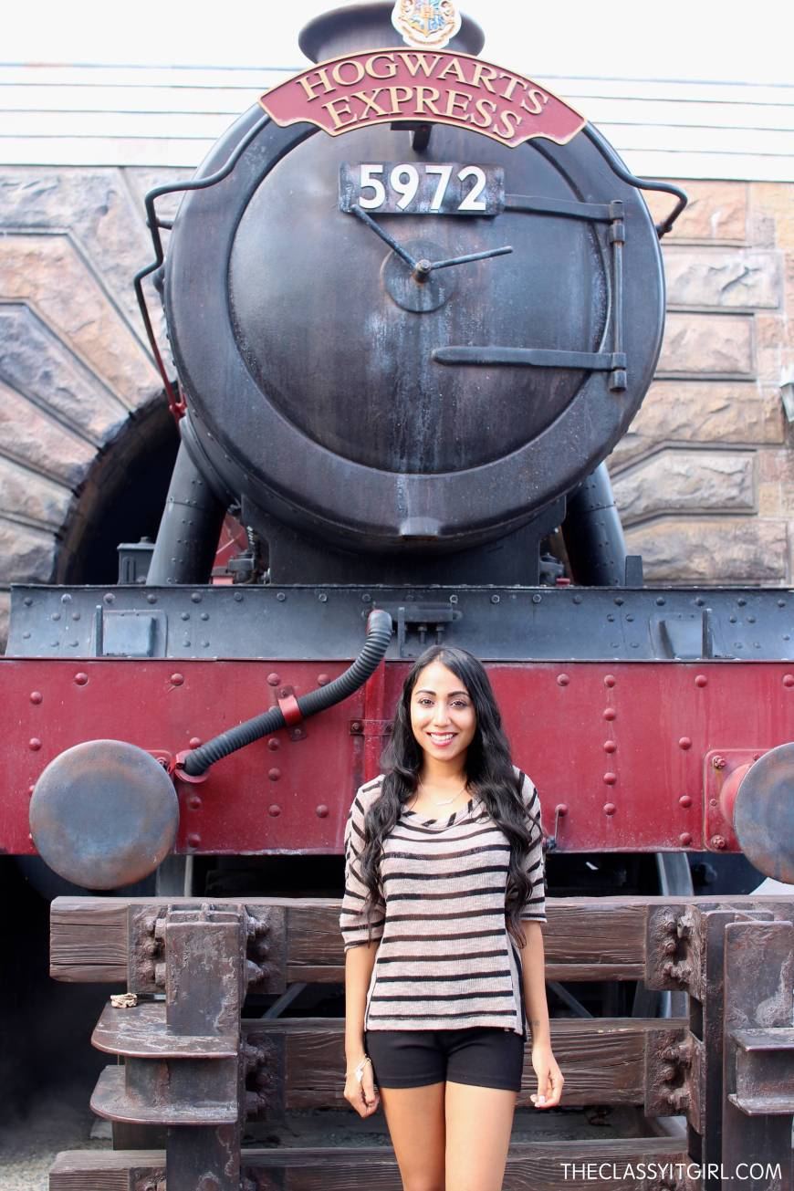 The one and only Hogwarts express...